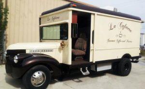 Vehicle Lettering custom food truck vintage wrap 300x184